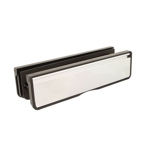 "10"" Letterbox for Composite & Timber Doors - 40-80mm Depth"