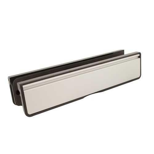 "12"" Letterbox for Composite & Timber Doors - 40-80mm Depth"