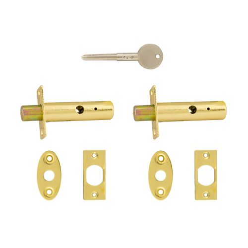 Security Rack Bolt & Key Set