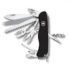 Swiss Army Knives with Locking Blade