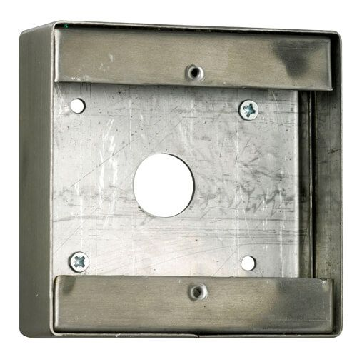 TSS DDA Large Back Box - Stainless Steel