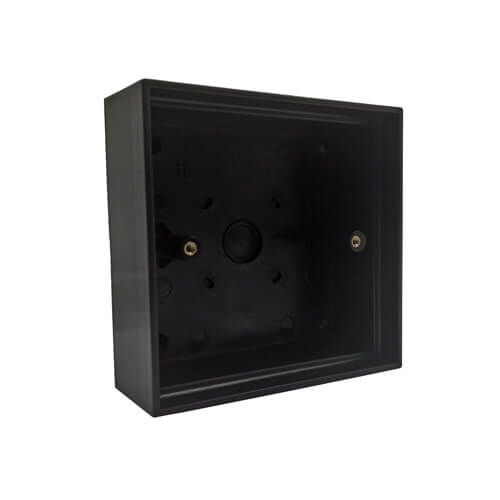 TSS DDA Plastic Back Box 35mm - Black