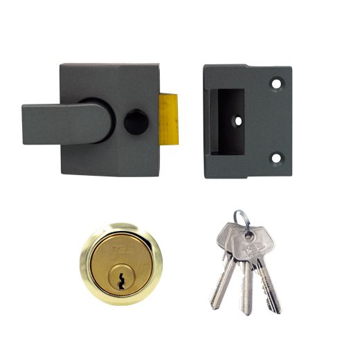 TSS Modern Deadlocking Nightlatch (40mm Backset)