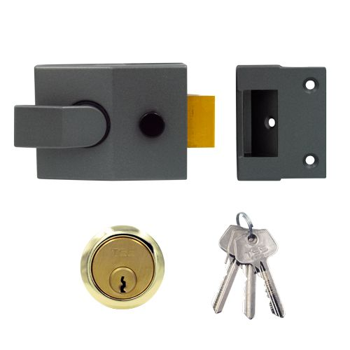 TSS Modern Deadlocking Nightlatch (60mm Backset)