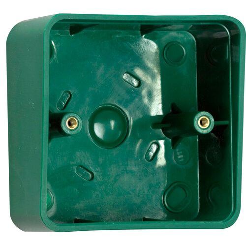TSS Plastic Shrouded Back Box - Green