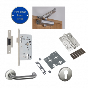 Union Latch Fire Door Kit
