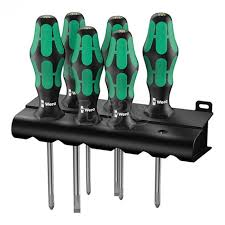 Wera Screwdrivers Kraftform Plus 300 Series Lasertip